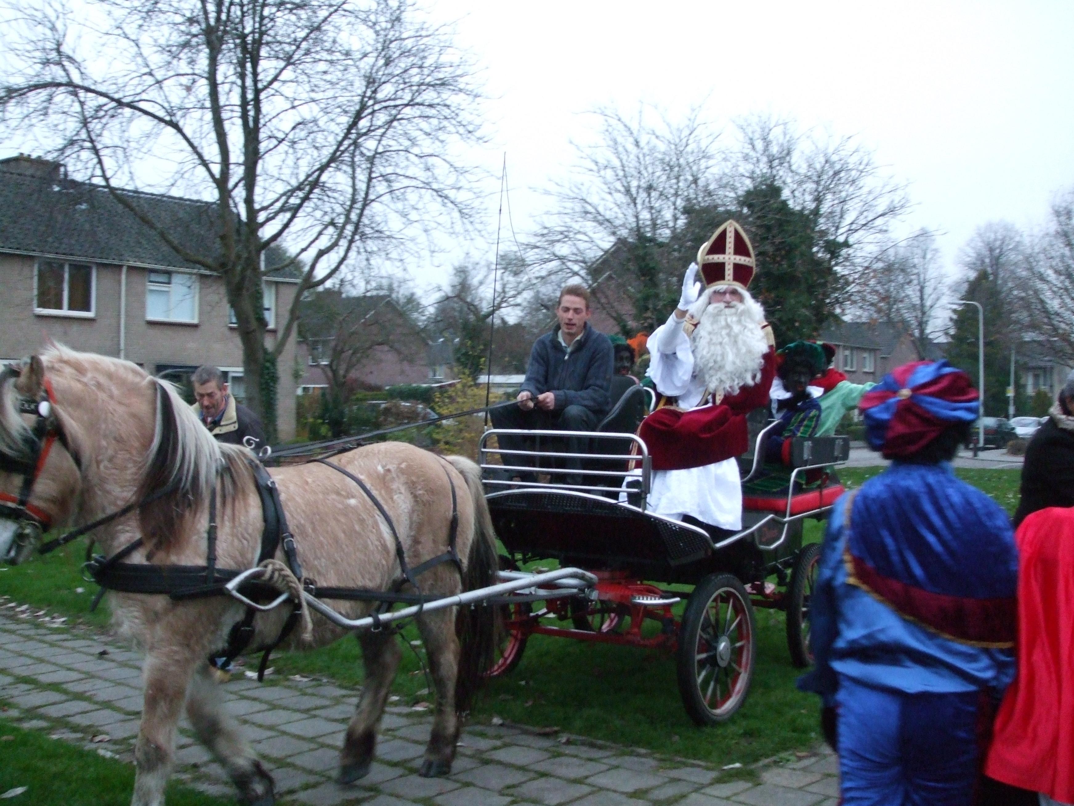 Sinterklaas bezoekt Vredeveldschool