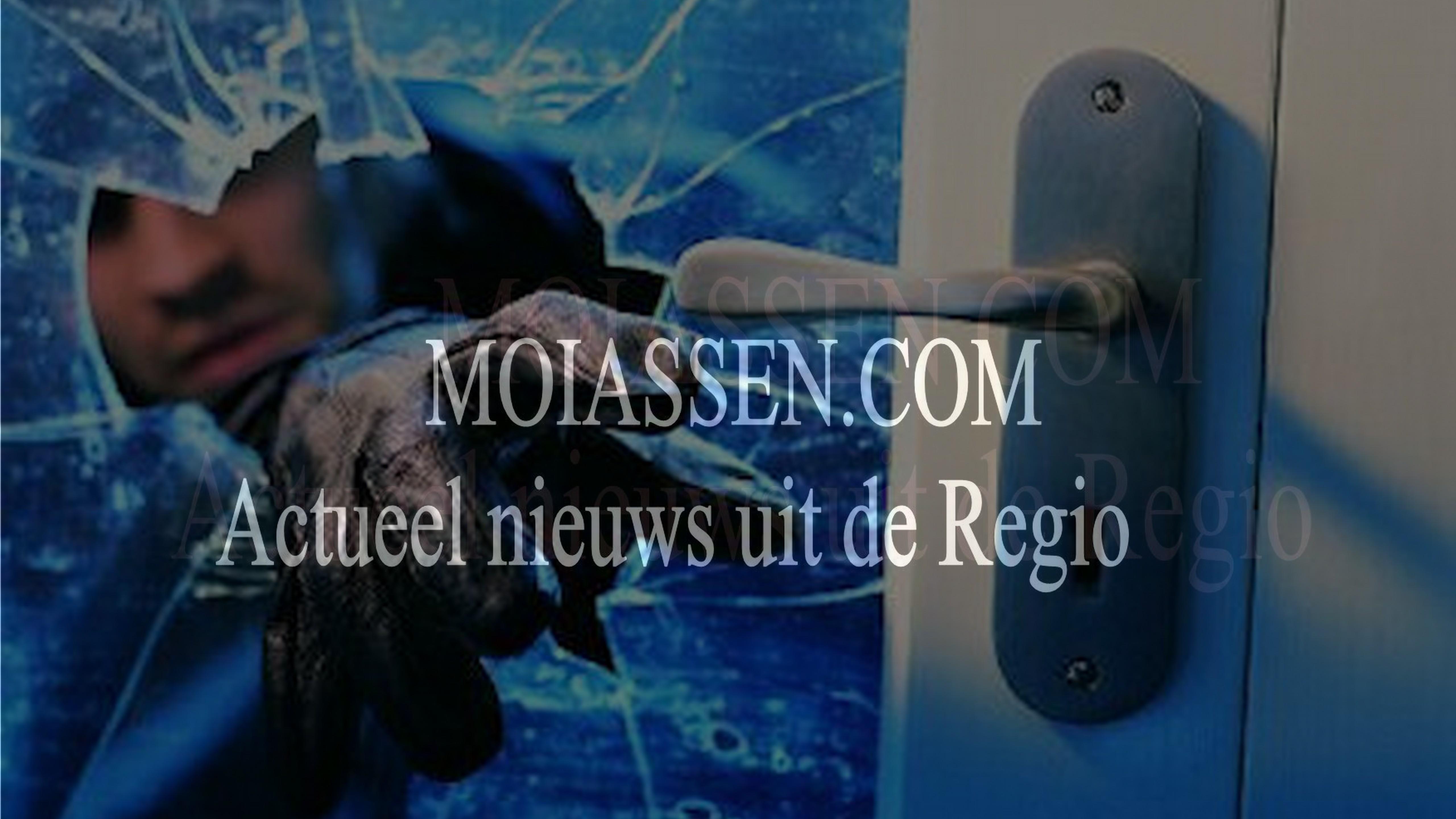 Inbrekers slaan zaterdagavond twee keer toe in de wijk Assen-Oost , Marsdijk  Assen