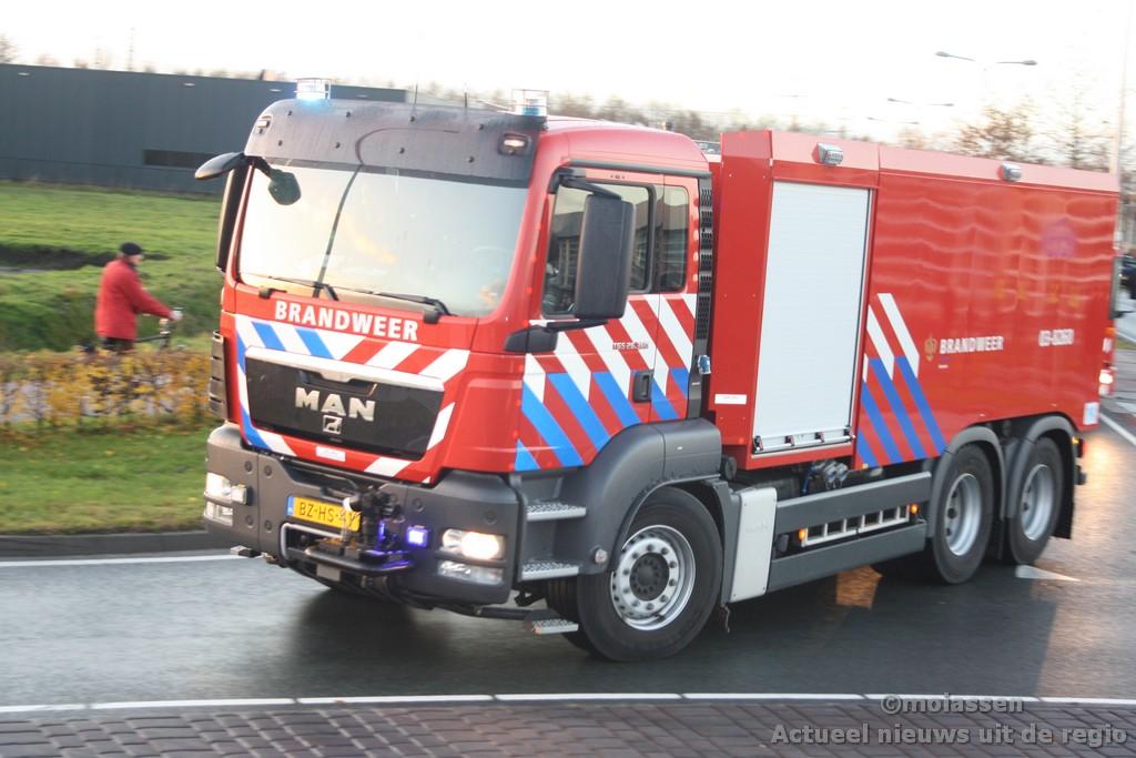 Brandweer stapt over op tankwagens