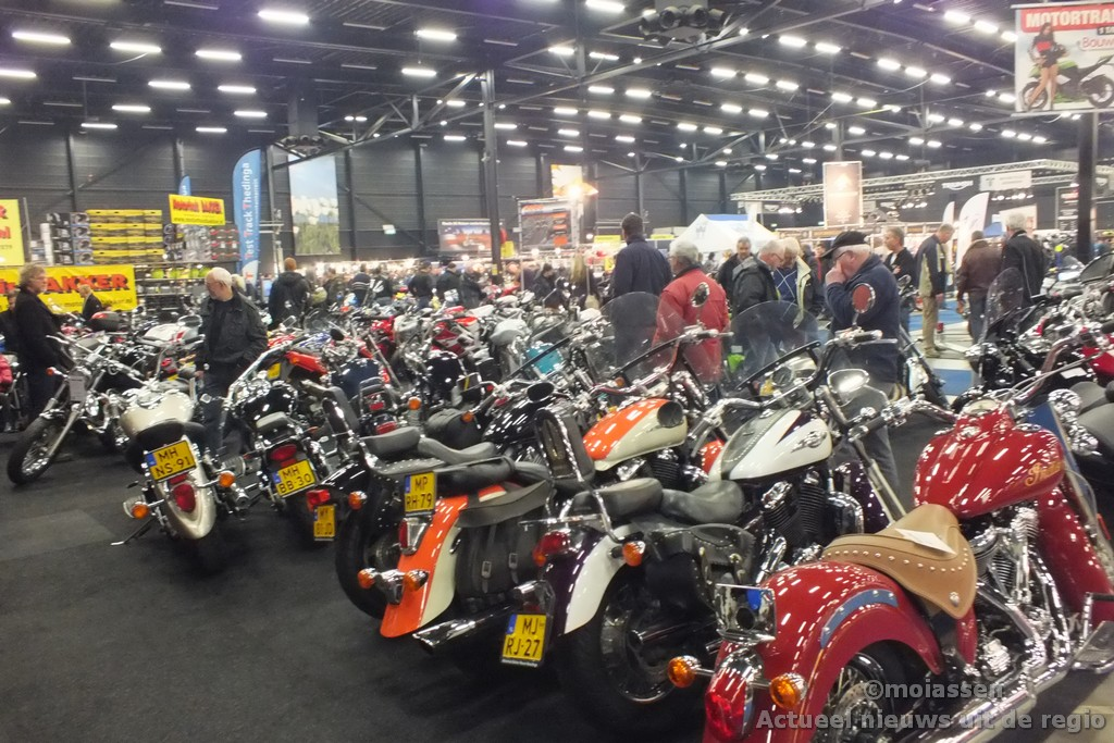 MotorExpo Assen 2014 in de TT Hall