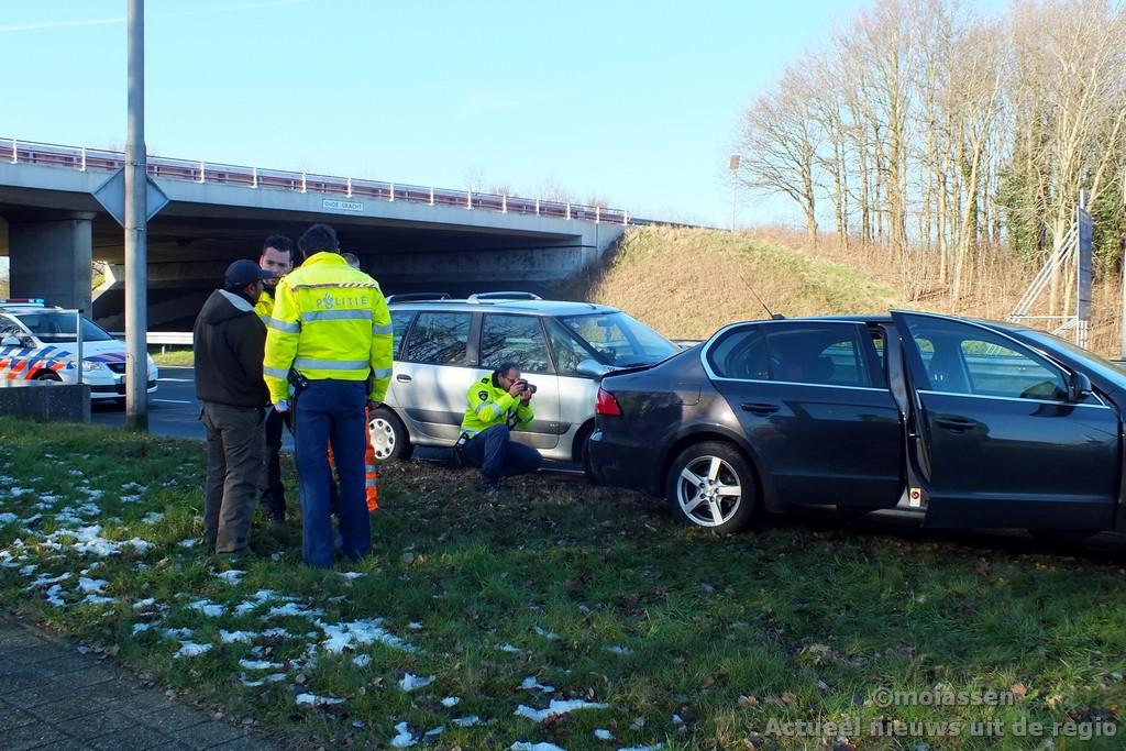 Verkeersongeval op Balkenweg in Assen