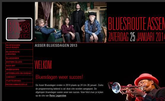Bluesroute Assen tijdens Bluesdagen