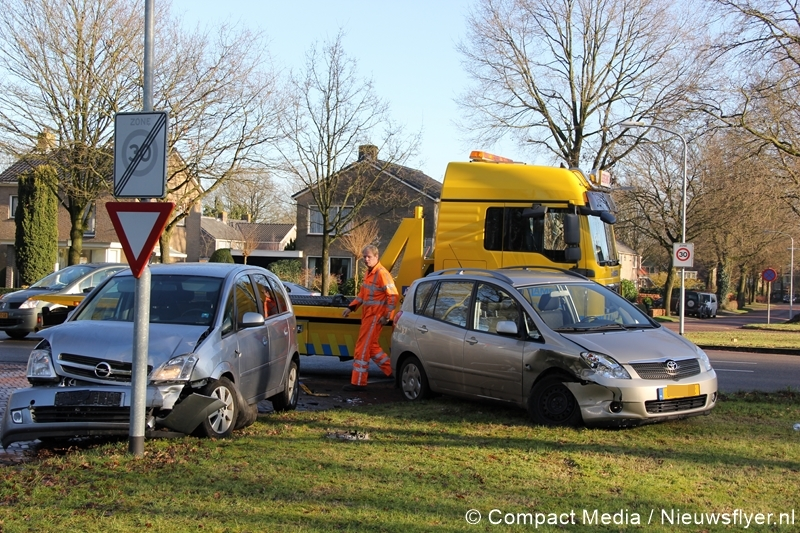 Verkeersongeval in Rolde