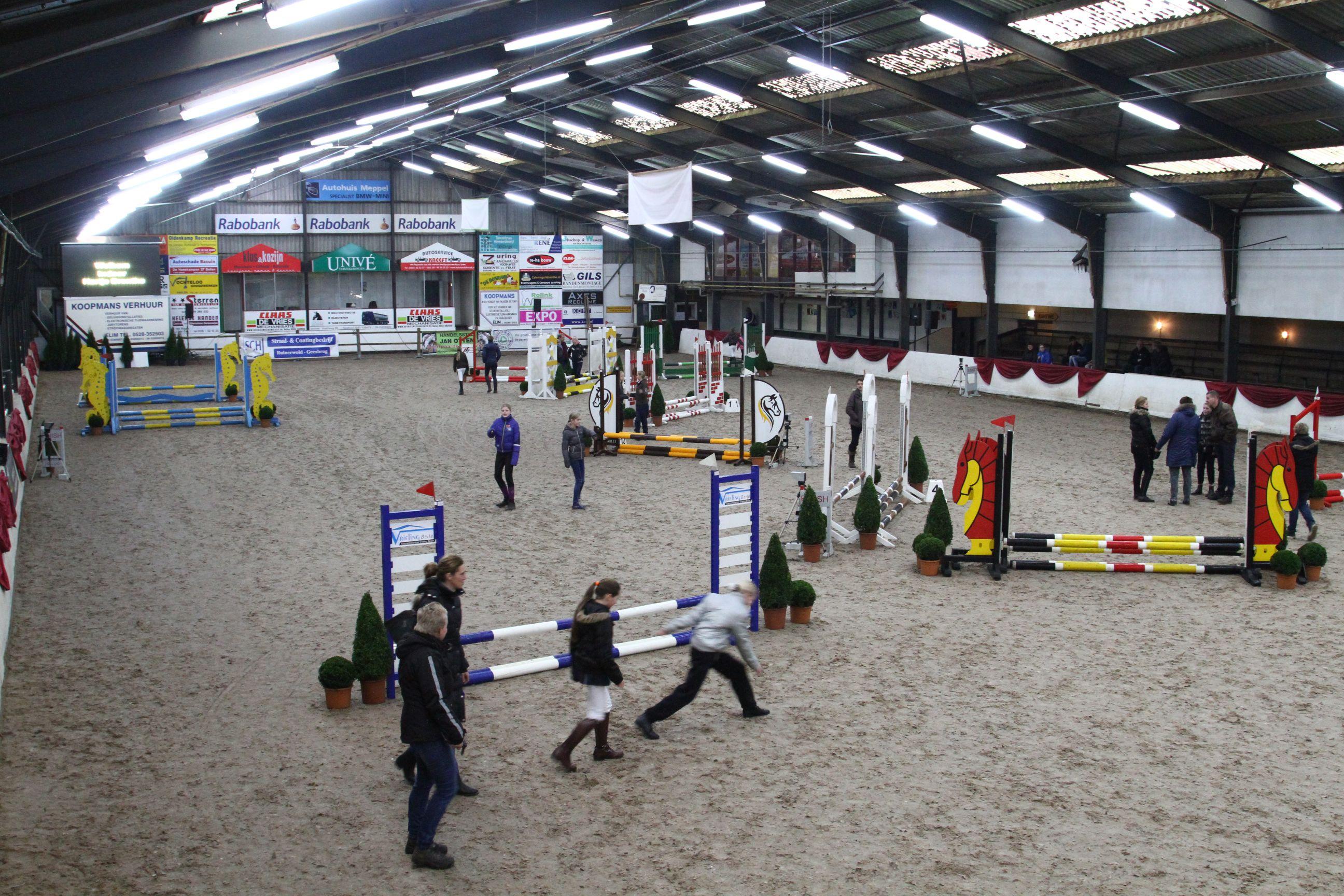 Indoor Hartje Drenthe begonnen