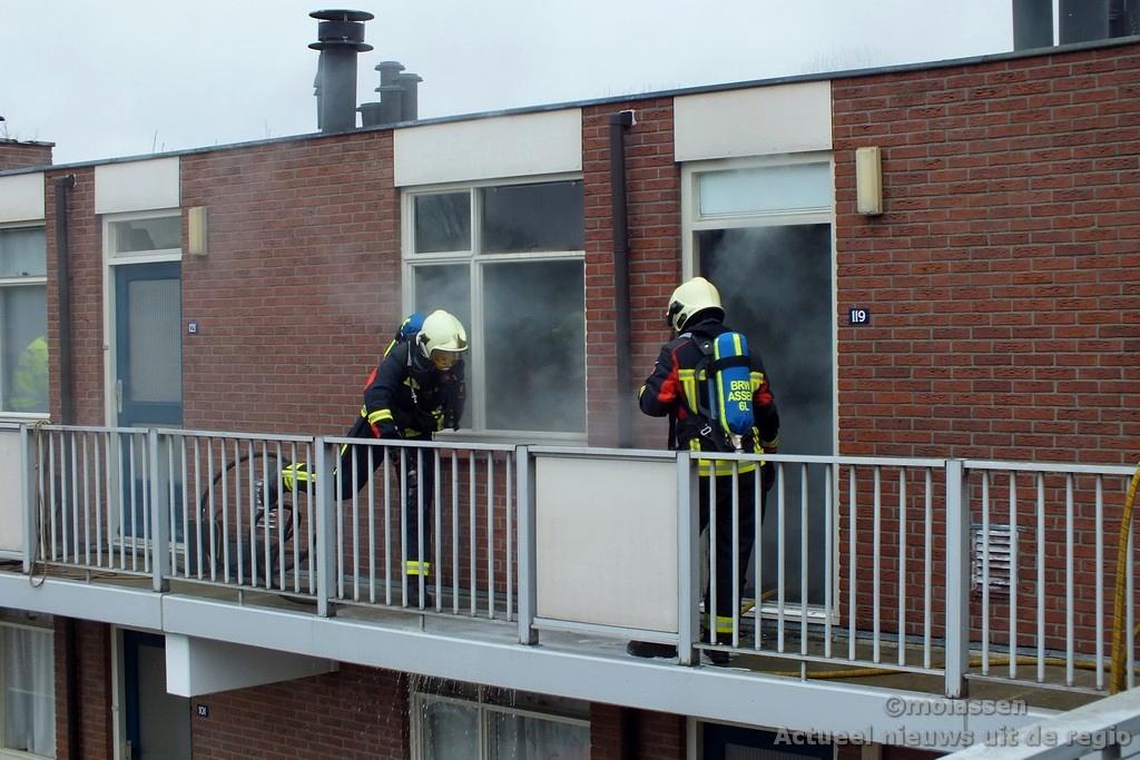 Politie doet onderzoek naar brand