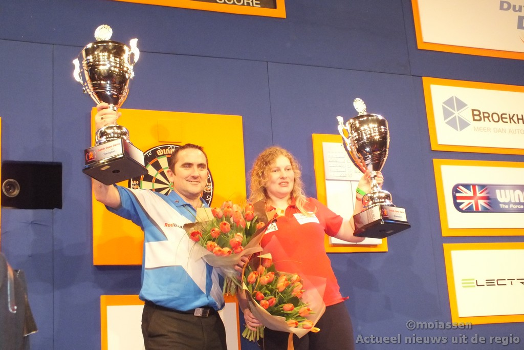 uitslag finales Dutch Open Darts