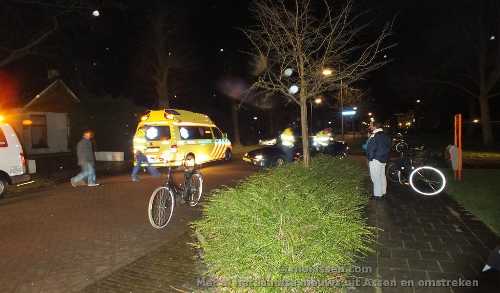 112 Kort: Fietser aangereden door auto