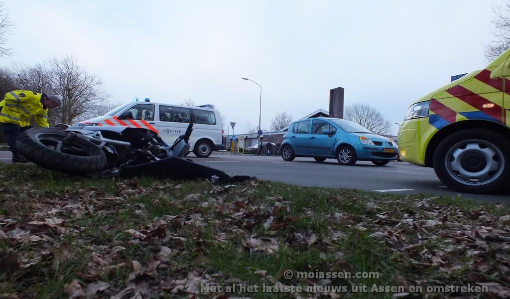 Voorrangsfout lijdt tot verkeersongeval in Assen