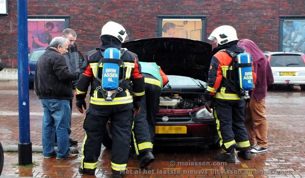 112 Kort: Brandweer rukt uit voor pechgeval