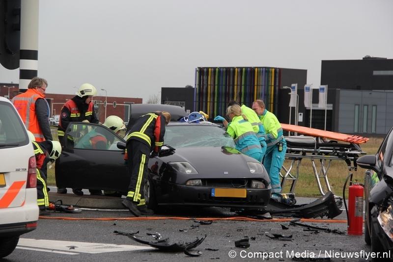 Twee gewonden bij verkeersongeval in Assen