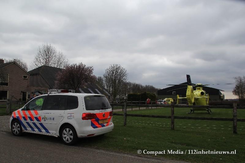 MMT ingezet voor ongeval in Smilde