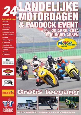 De Landelijke motordagen & Paddock event 2014