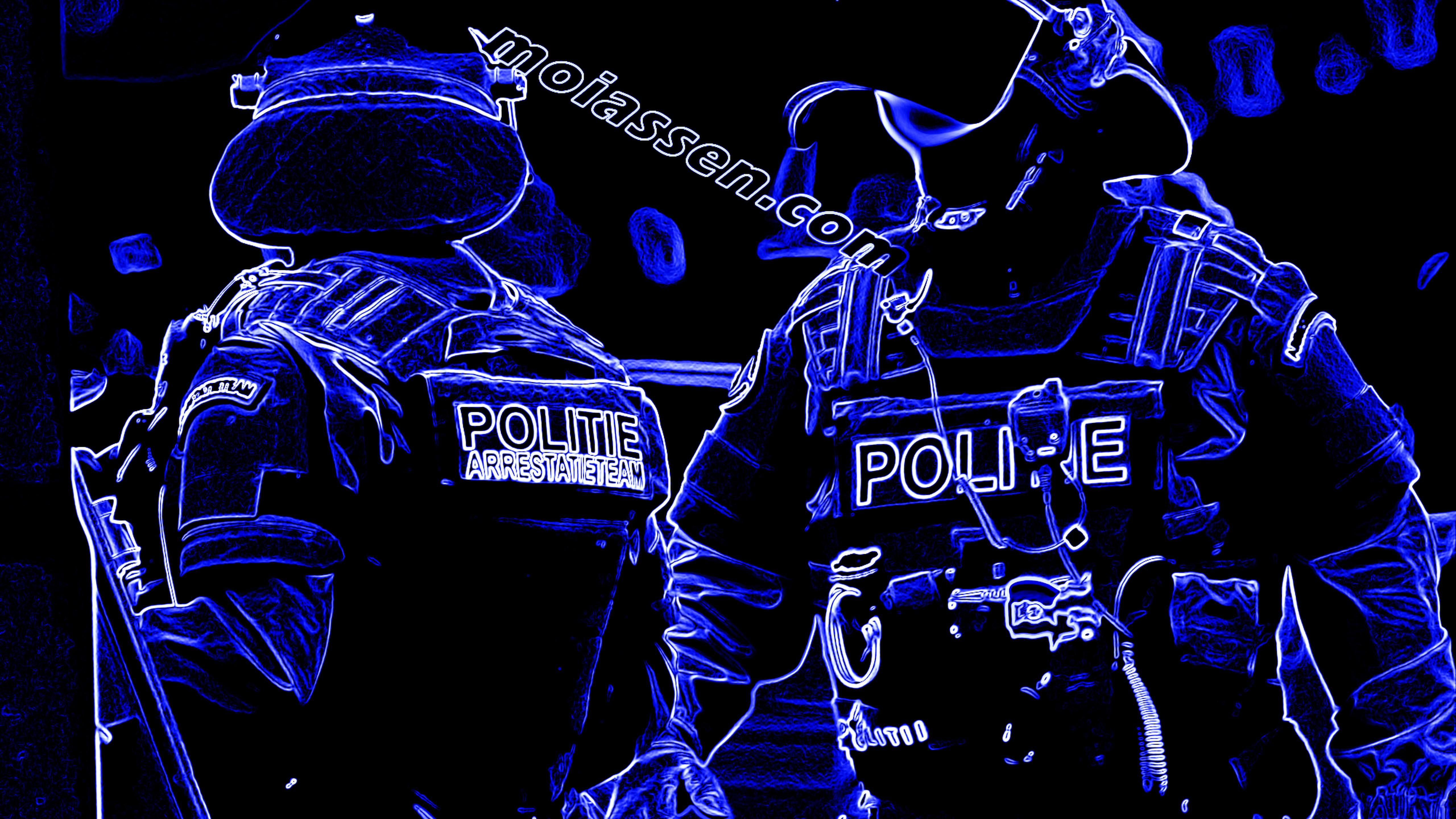 Arrestatieteam rekent in wijk Kloosterveen man in na bedreiging met een voorwerp