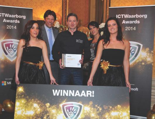 SOMCOM wint ICTWaarborg Award voor SERVICEBEDRIJF van het jaar