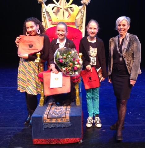 Myrthe Forsten van basisschool De Borg wint Asser voorleeswedstrijd