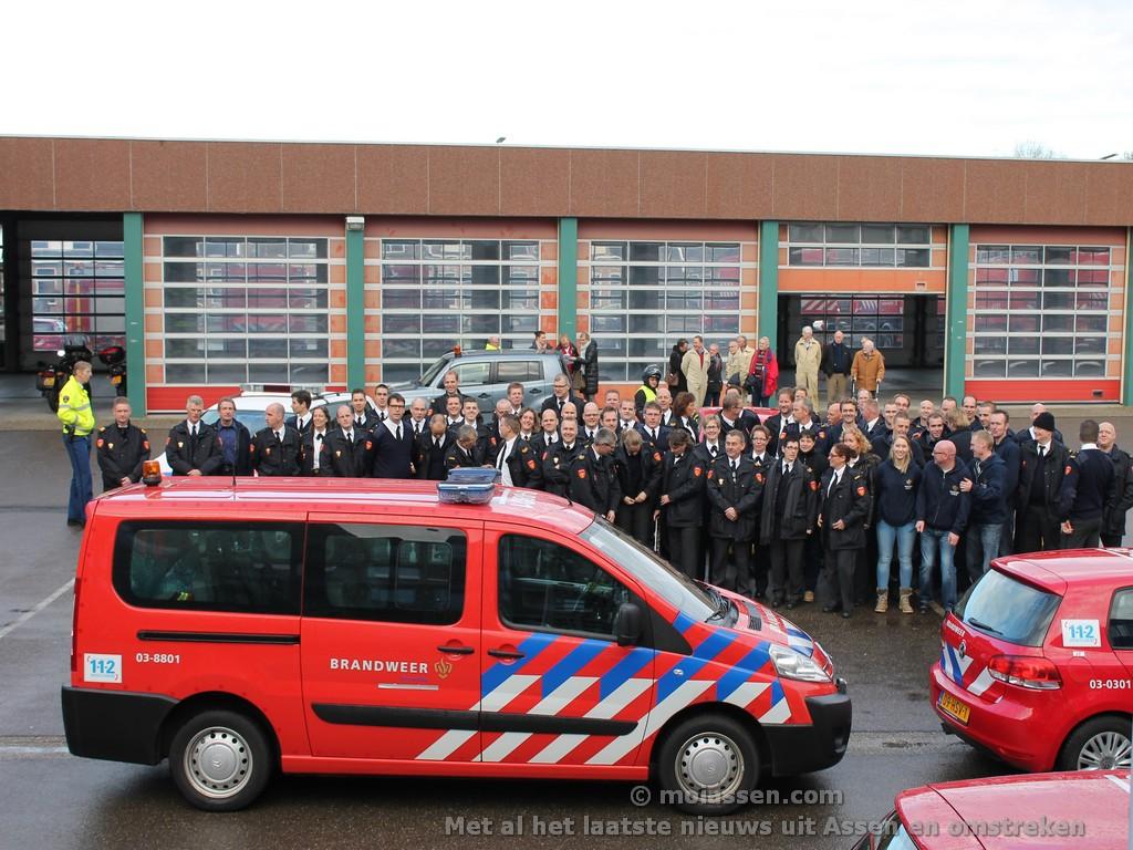 De brandweer Assen zoekt nieuwe brandweervrijwilligers. (Opendag)
