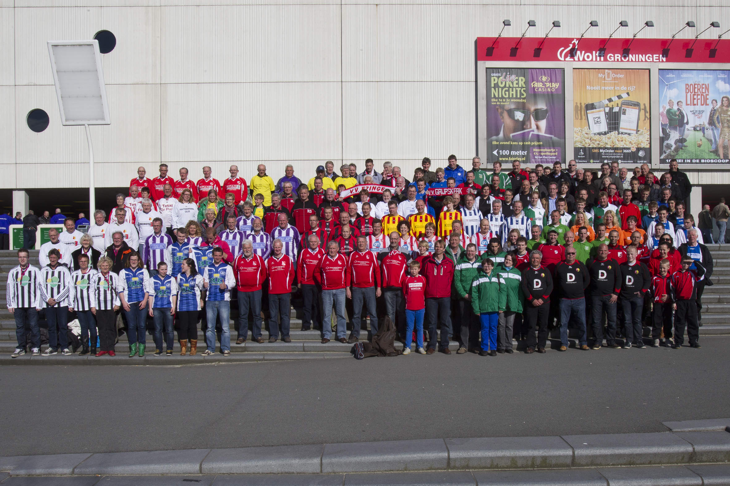 FC Groningen legt voetbalvrijwilligers in de watten