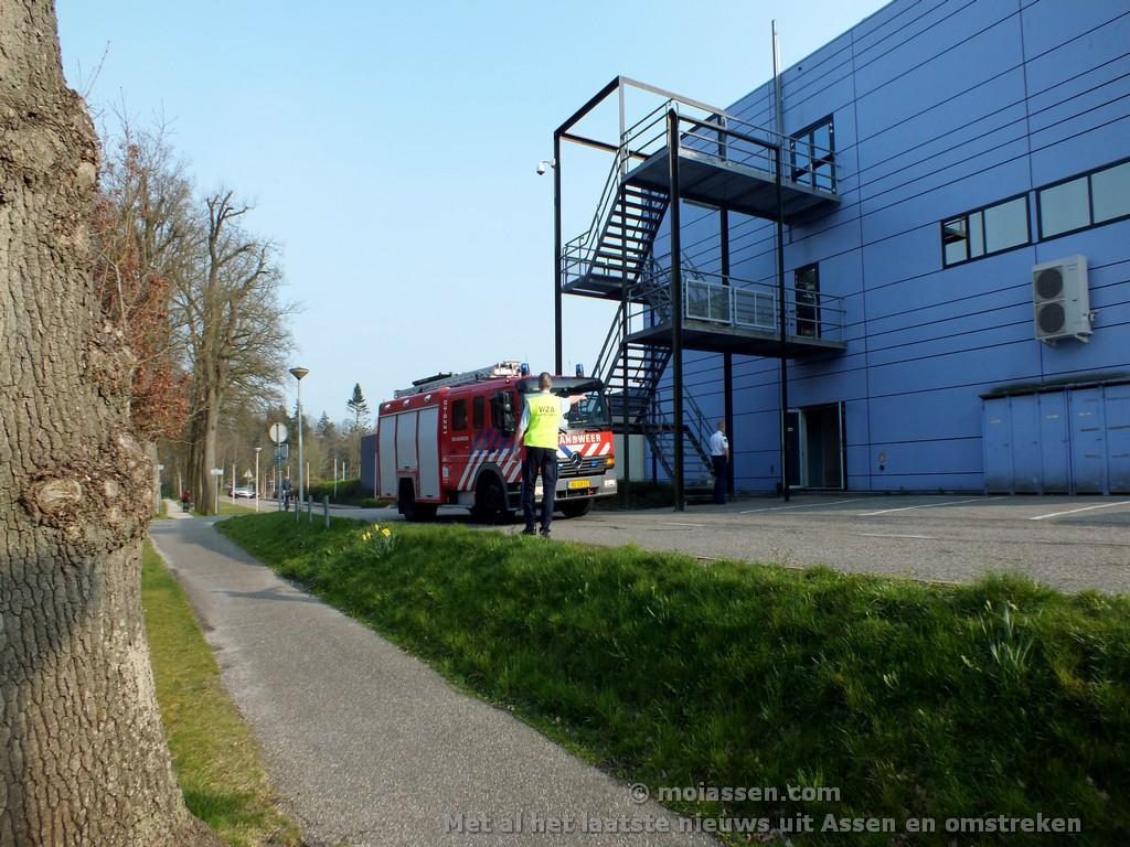 Brandmelding bij Wilhelmina Ziekenhuis Assen (Update)