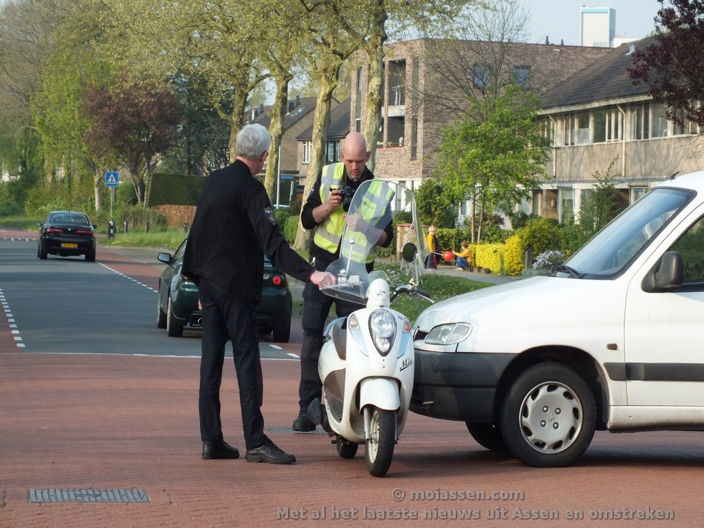 Gewonde bij verkeersongeval in Assen