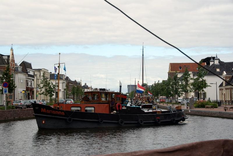 Historische schepen in De Vaart