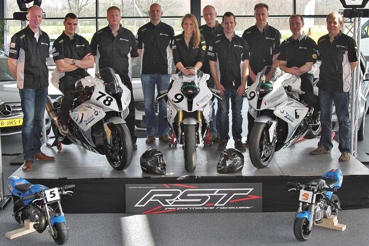 Teampresentatie Bertus Folkertsma racing team 2014