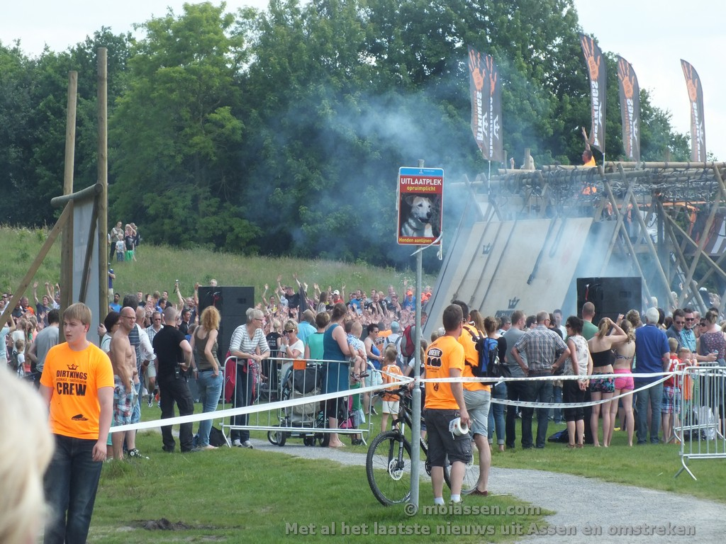 De eerste Drenthe Dirt King(video)