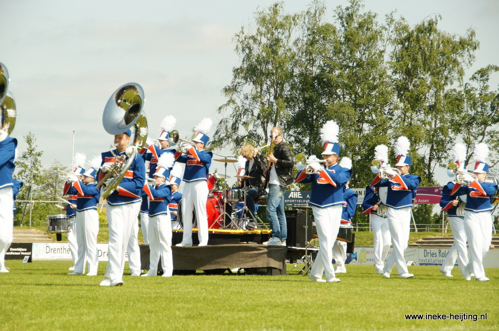 Open Dutch Showcorps Championships helemaal rond