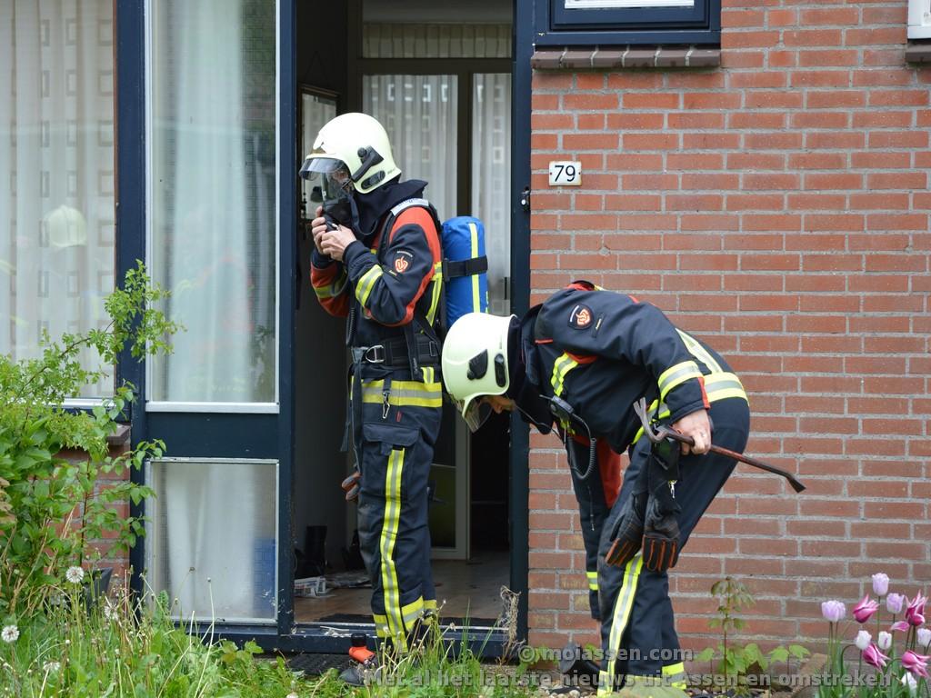 Brandmelding leidt naar hennepkwekerij in Assen