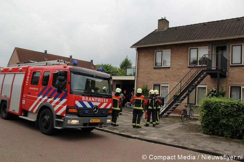 Benzinelucht in woning aan Havikstraat Assen