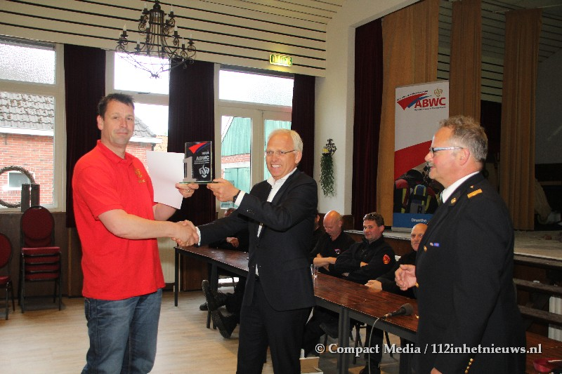 Brandweer Assen wint Brandweerwedstrijden in Vries