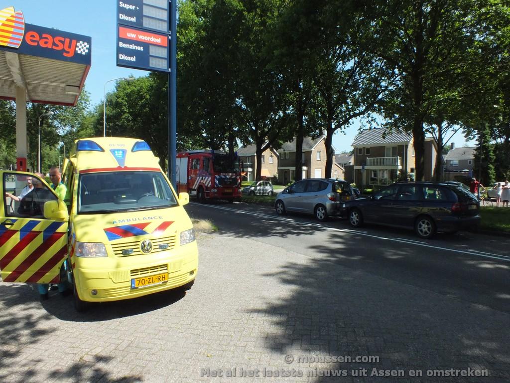 112 Kort: Verkeersongeval in Rolde