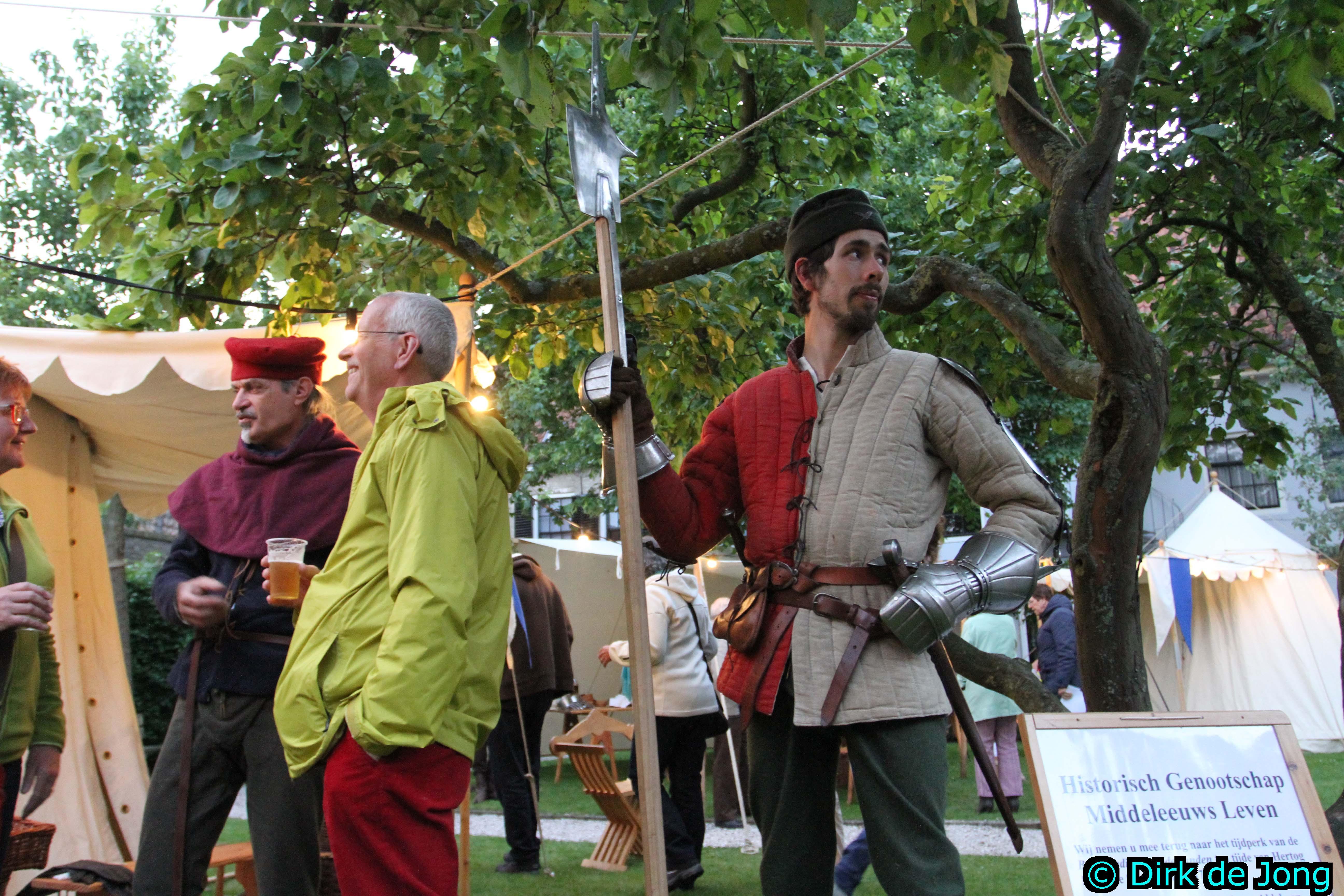Middeleeuws Leven Assen succesvol in Elburg