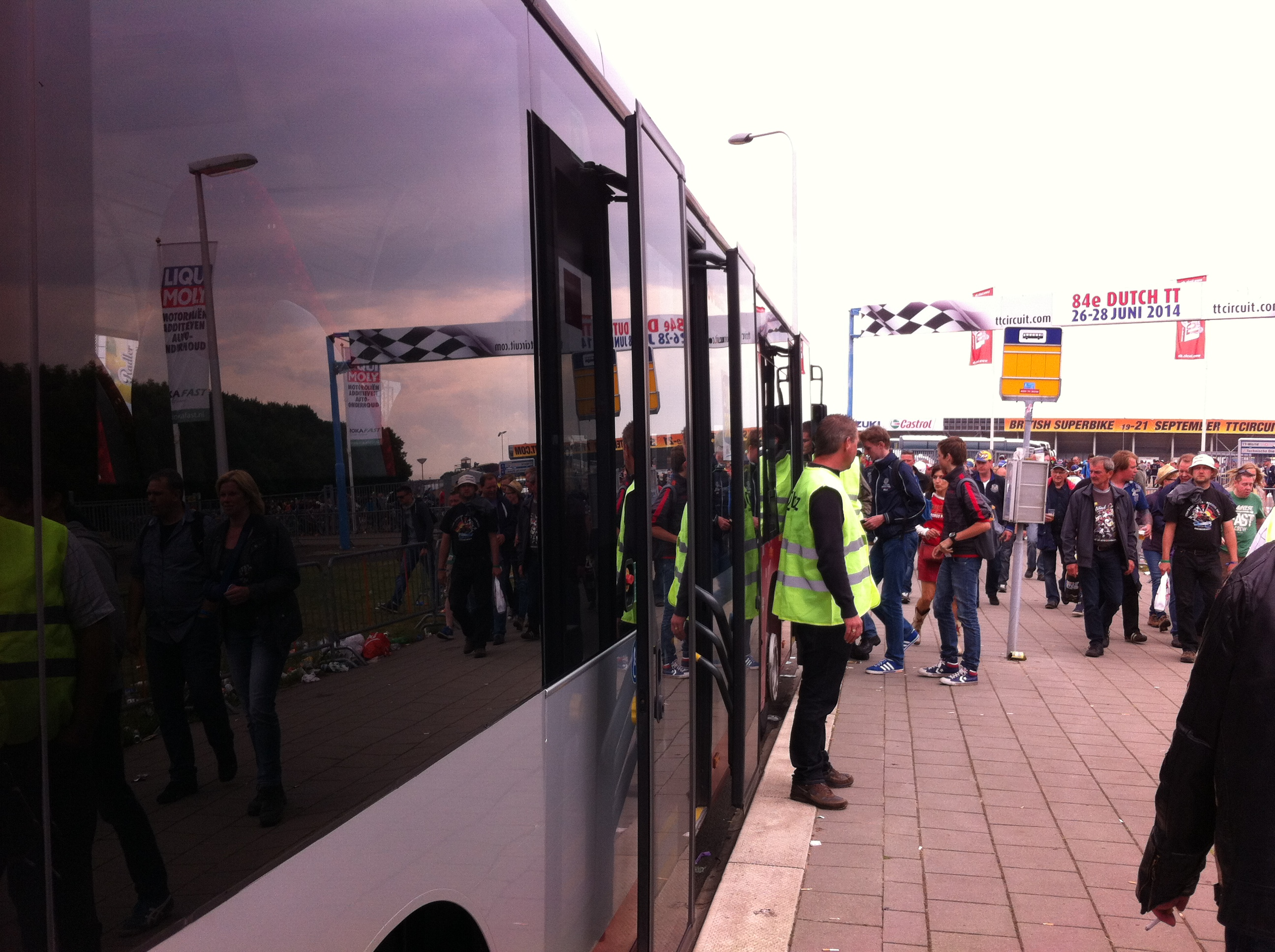 20.000 reizigers in extra TT bussen