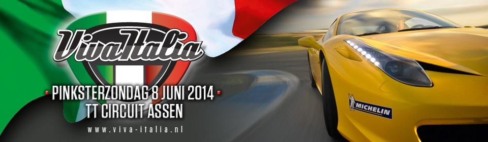 Pinksterzondag 8 juni: Viva Italia op het TT Circuit Assen