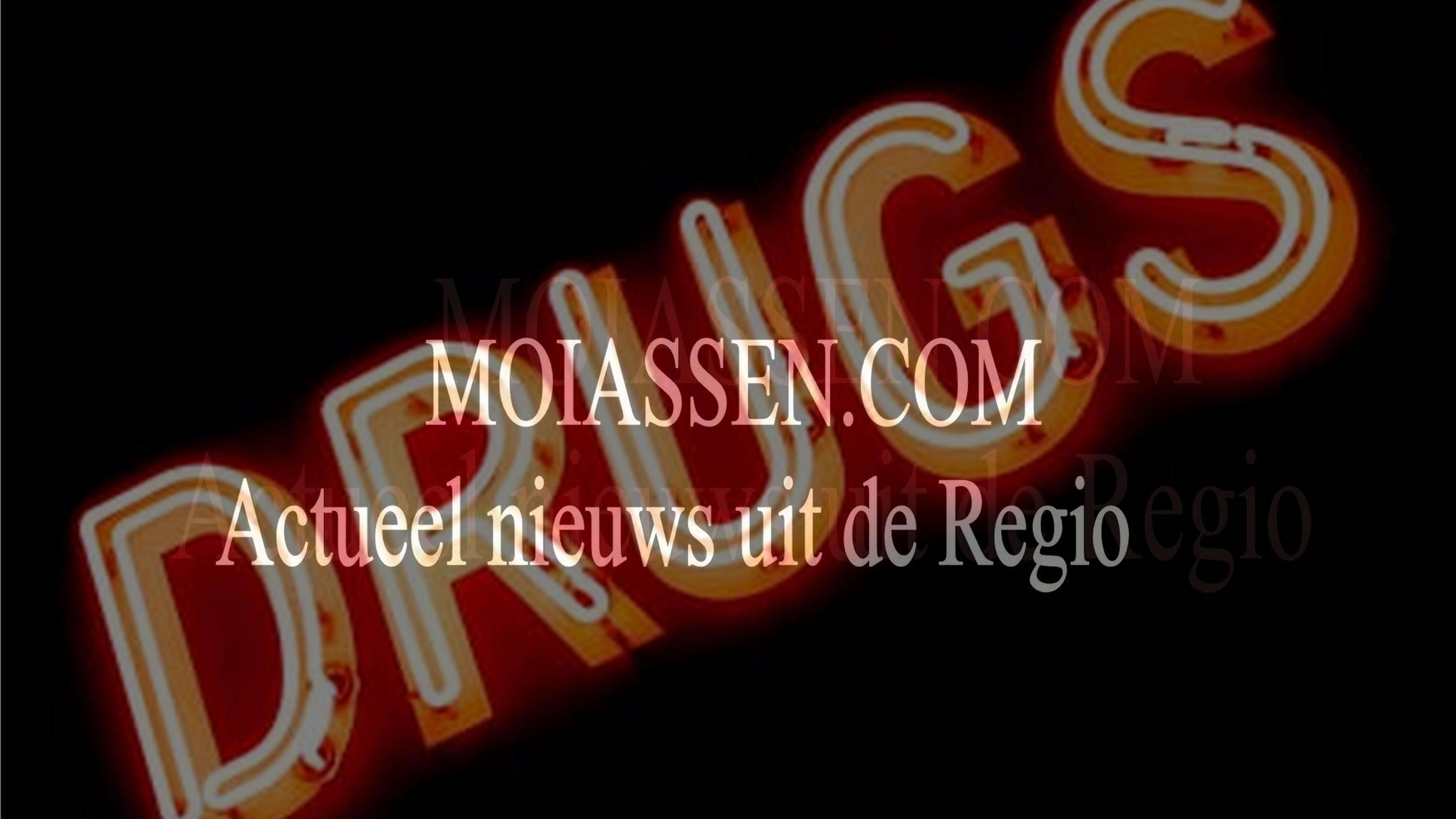 Inval gedaan in drugswoning Sluisstraat in Assen