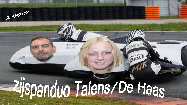 Opnieuw TT-wildcard voor zijspanduo Talens/De Haas