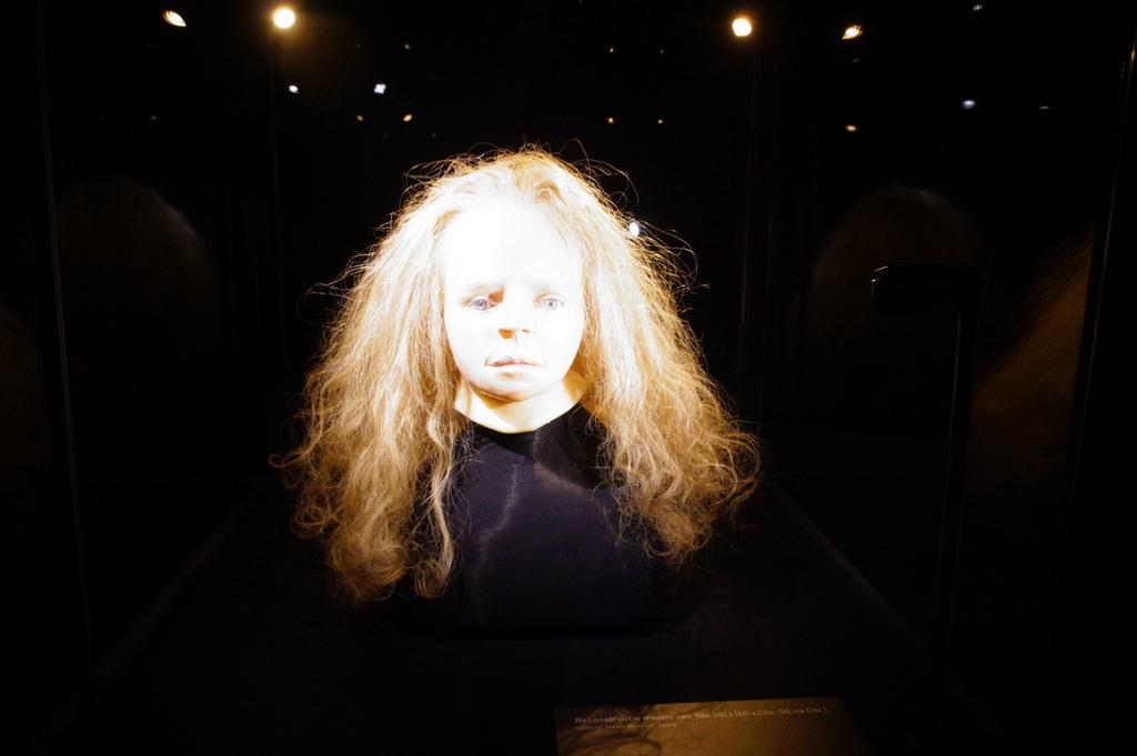 Nederlandse primeur: 3D-scan meisje van Yde in Drents Museum