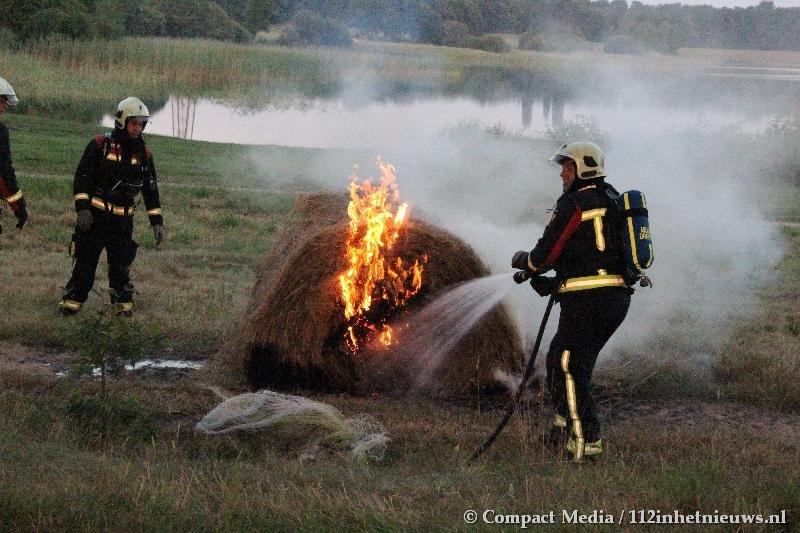 Natuurbrand gemeld bij recreatiegebied Baggelhuizen in Assen