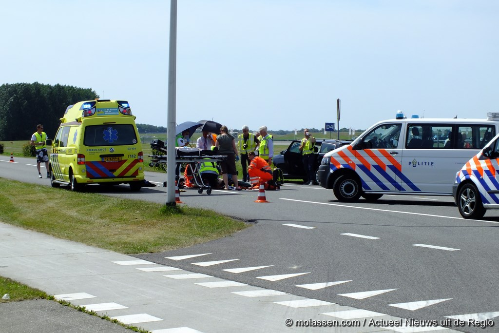 Voetganger ernstig gewond bij aanrijding met een motor in Assen (video)