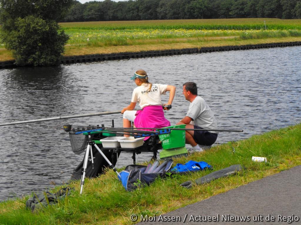WK Junioren zoetwatervissen in Assen