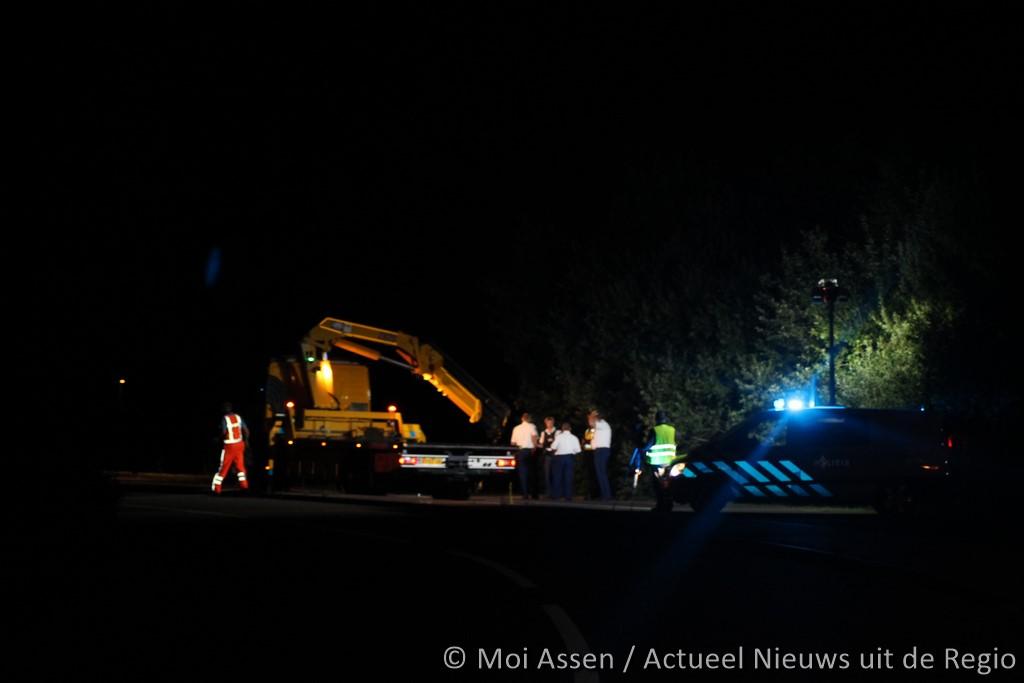 VIDEO:Motorrijder dodelijk verongelukt op de haar in Assen (update)