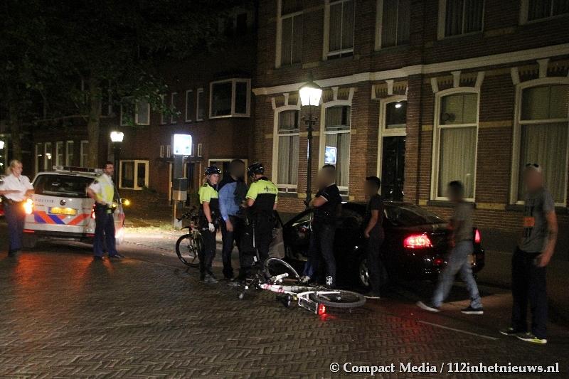 Politie neemt rijbewijs in van bestuurder na ongeval