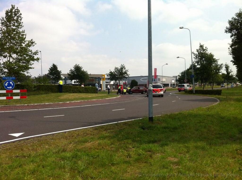Motorrijder gewond na achtervolging door Assen(update)