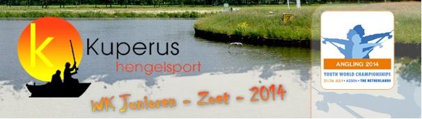 Kuperus Hengelsport actief op het WK junioren zoet 2014!