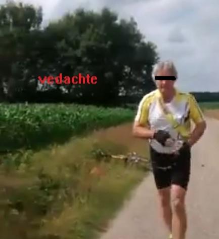 Onbekende racefietser heeft zich gemeld