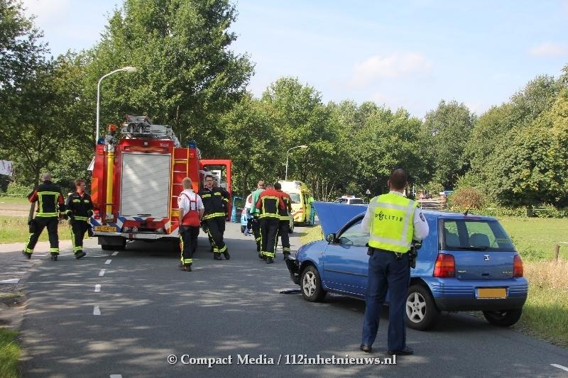 Vrouw gewond bij verkeersongeval nabij Bovensmilde