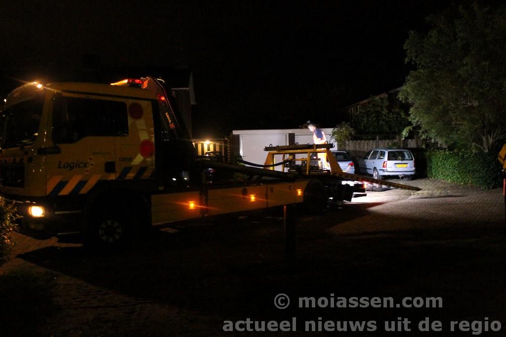 Verdachte ontkomt aan de politie na wilde achtervolging door Assen