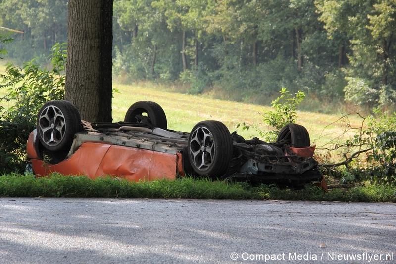 Gewonde bij eenzijdig ongeval nabij Nooitgedacht