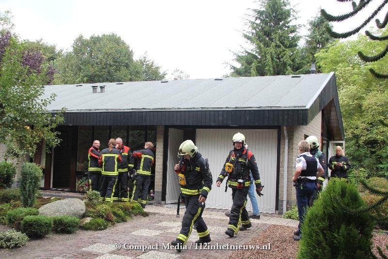 Pannetje op het vuur voor brandweer Smilde