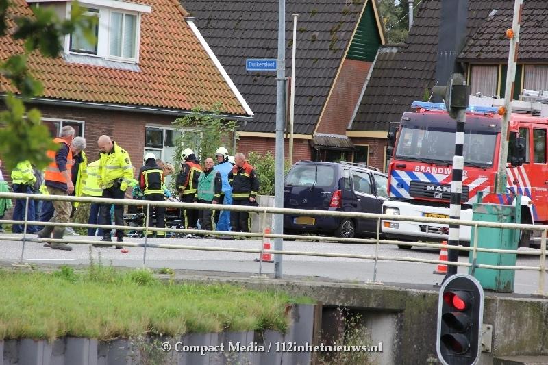 Gewonde bij ongeval op N371 bij Bovensmilde